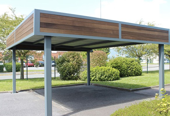 mod les de carport en aluminium sur mesure eurocarport. Black Bedroom Furniture Sets. Home Design Ideas