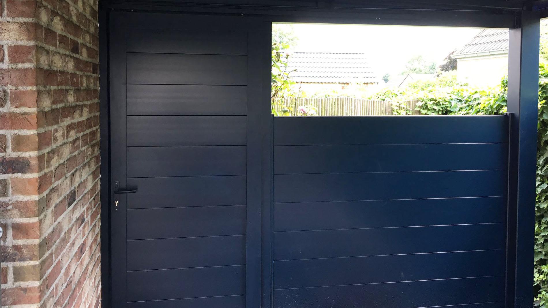 Portillon rambouillet sur carport