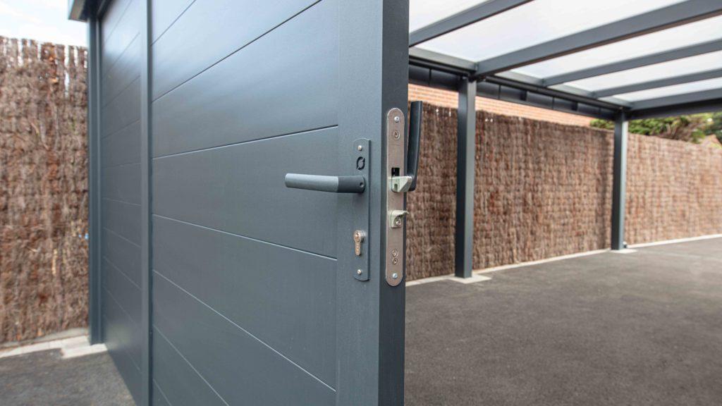 Porte coulissante rambouillet sur carport