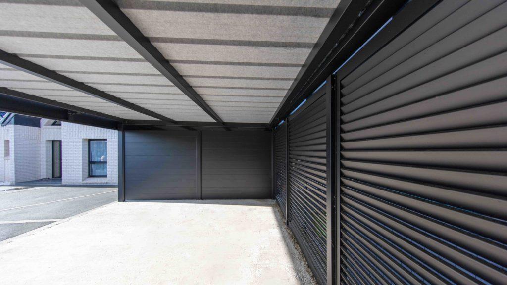 Brise-vue sarlande carport en aluminium